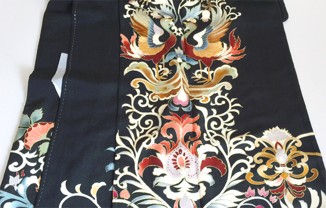 黒留袖(ちりめん/正絹)