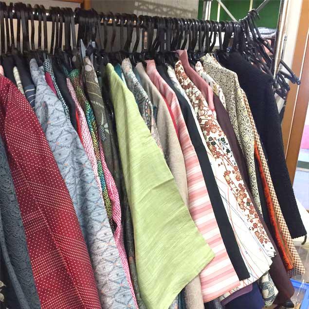 きもの初心者におすすめ♪ 着物をお得に買える「エコメッセの中古着物コーナー」