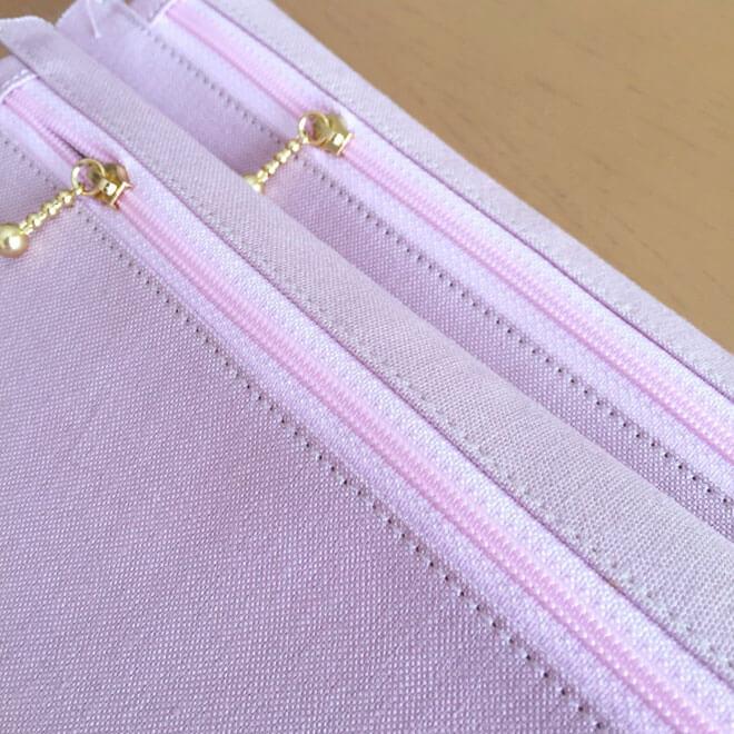 帆布インナーバッグ(着せ替えができるバッグシリーズ用)の製作風景