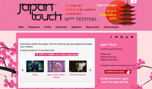 Japan touch festival in France